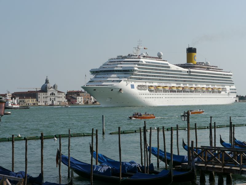 Venedig Kreuzfahrtschiffe